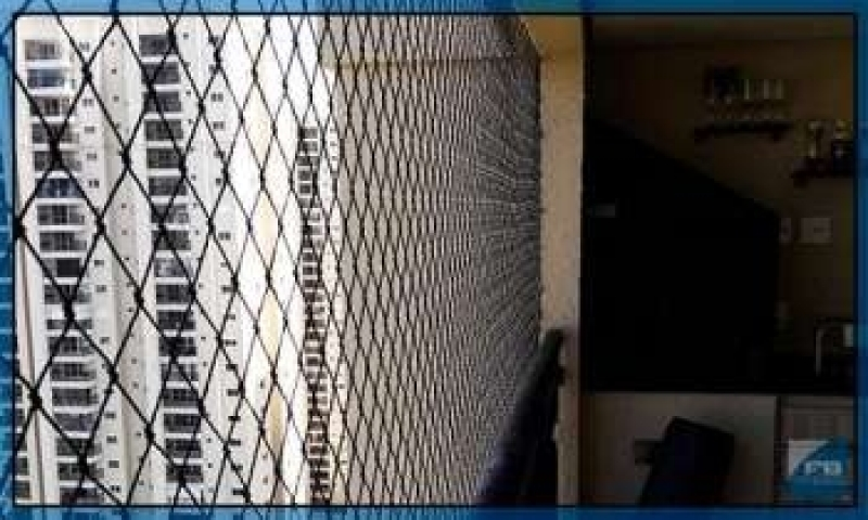 Empresa de Rede de Proteção para Sacada Embu Guaçú - Rede de Proteção Apartamento