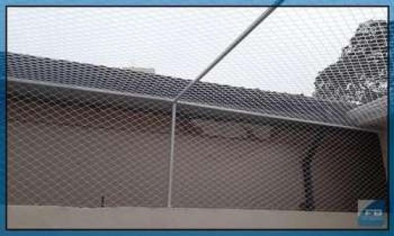 Rede de Proteção Piscina Tremembé - Rede de Proteção para Sacada