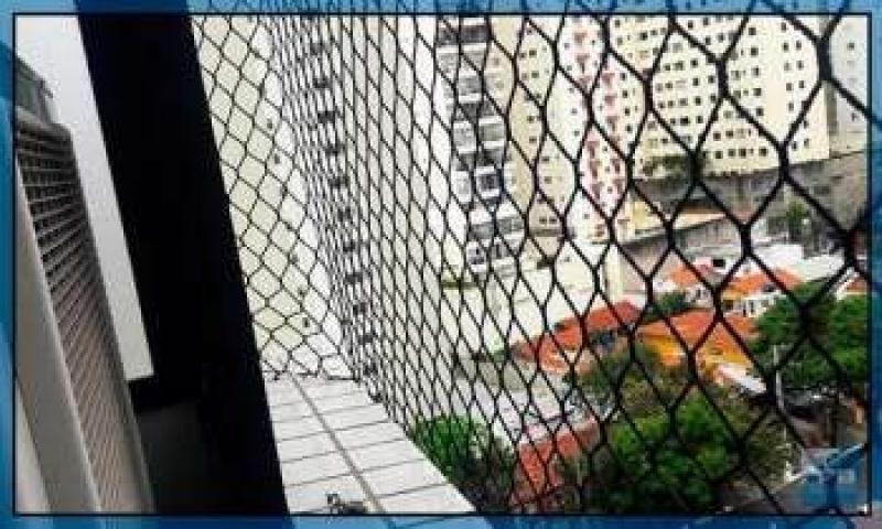Rede de Proteção Sacada Jardim São Saveiro - Tela Rede de Proteção