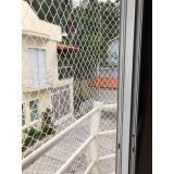 instalação de rede proteção escada Mooca