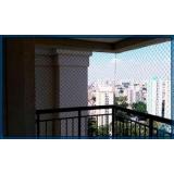 rede de proteção para janela de apartamento Parque Maria Domitila