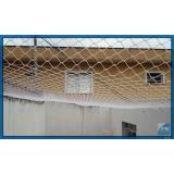rede de proteção para janela grande