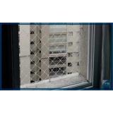 rede protetora de janela Limão
