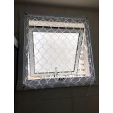 redes de proteção branca Ibirapuera