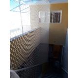 rede de proteção escada